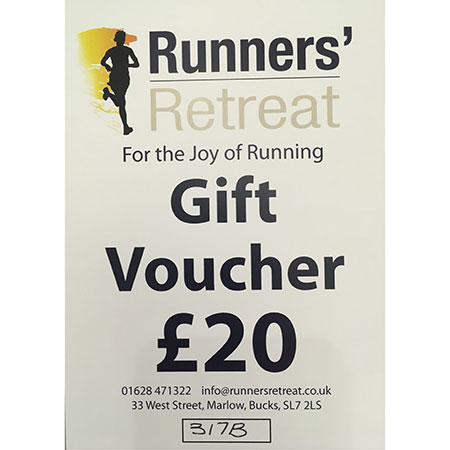 runners retreat £20 gift voucher