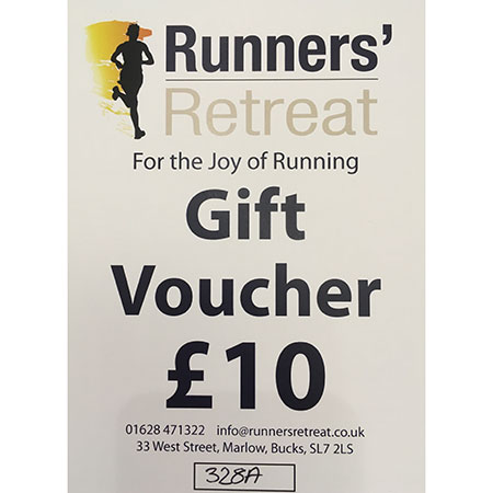 runners retreat £10 gift voucher