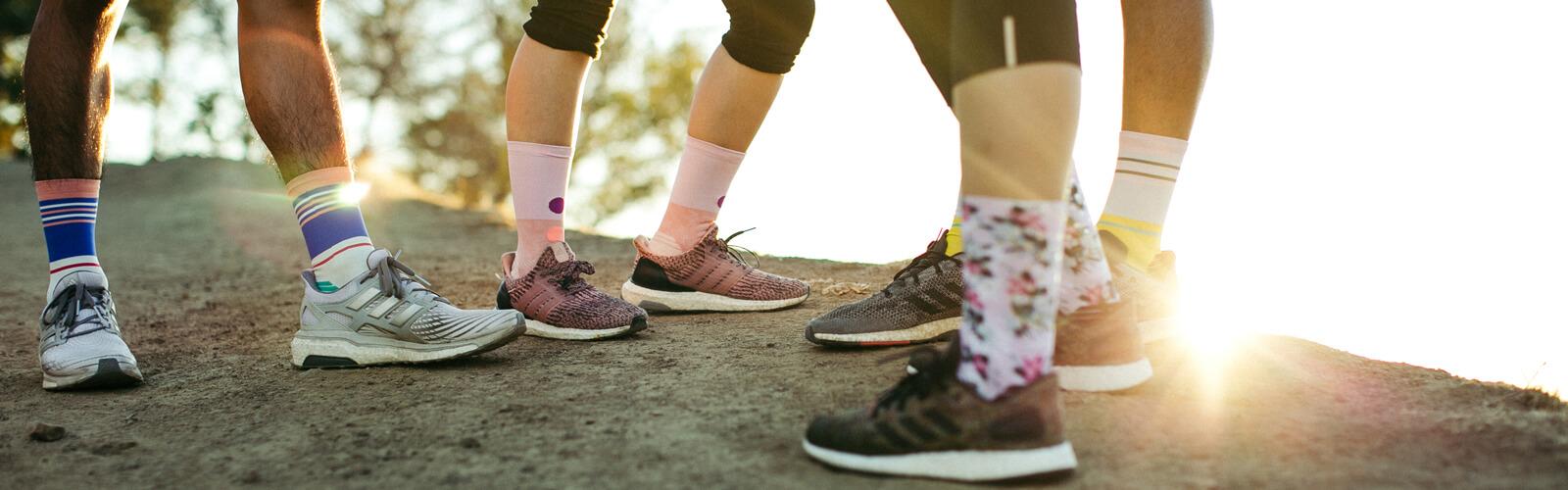 Stance running socks at runners retreat Marlow
