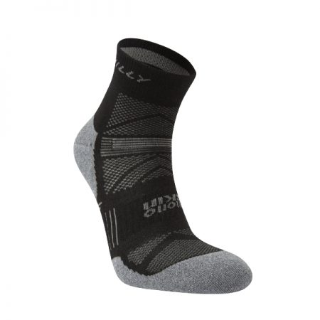 Hilly Supreme Anklet Running Sock Black