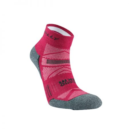 Hilly Supreme Anklet Womens Running Sock Red