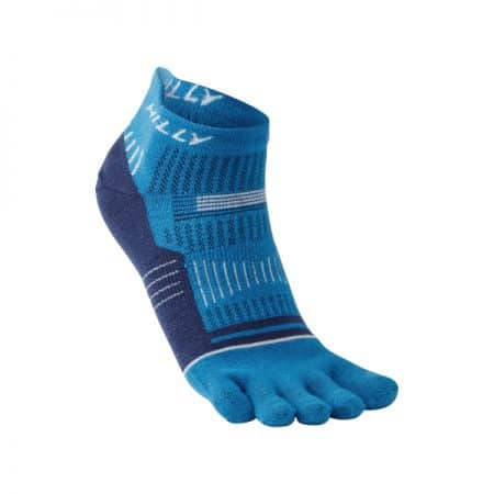 Hilly Toe Sock Socklet Blue White