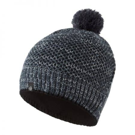 Ronhill Bobble Hat Black Charcoal