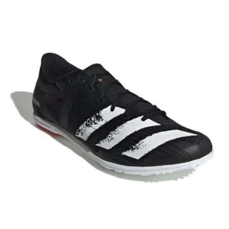 Adidas Distancestar Black Track Running Spike Shoes