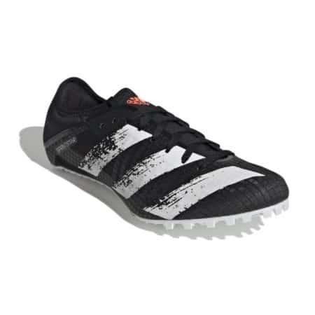 Adidas Sprintstar Black White Track Sprinting Running Spikes